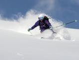 Skifahrer am Gerlos in Tirol, 2010