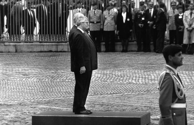 Offizieller Abschied von den alliierten Truppen in Berlin, 1994