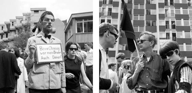 Demonstration gegen Polizeigewalt, 1967