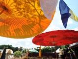 Aufbau fuer das Tollwood Sommerfestival, 2010