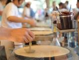 Zubereitung von Crepes, 2012