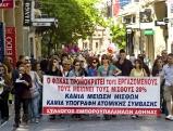 Demonstration gegen Lohnminderung