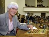 Barbara Ruetting im  Bayrischen Landtag, 2003
