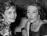 Brigitte Horney und Annemarie Dueringer, 1958