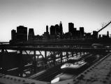 Brooklyn Bridge in New York City, 2002 - fotografiert von Regina Schmeken