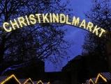 Beleuchteter Christkindlmarkt am Sendlinger Tor