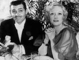 Clark Gable und Marion Davies auf einem Ball, 1936