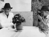 Clark Gable mit seiner Ehefrau, 1959