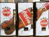Getraenkeautomaten der Firma Coca-Cola in Washington, 2001