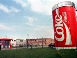 Coca-Cola-Fabrik  in Polen, 1995
