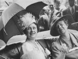 Koenigin Elizabeth und Eleonor Roosevelt in Washington, 1939