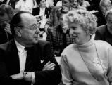 Hans-Dietrich Genscher und Alexandra Graefin Lambsdorff, 1991
