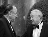 Hans-Dietrich Genscher und Guenther Beckstein in Bayreuth, 2007