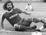 Gerd Mueller als Spieler von Bayern Muenchen, 1974