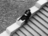 Mann an der Seine