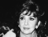Gina Lollobrigida bei der Berlinale, 1986