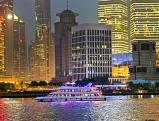 Skyline im Viertel Pudong