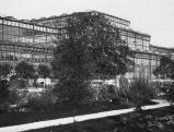 Der Glaspalast auf dem Gelaende des Alten Botanischen Gartens