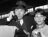 Gregory Peck und seine Frau Veronique, 1960