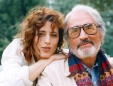 Gregory Peck und seine Tochter Cecilia, 1993