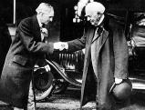 Henry Ford mit Thomas Alva Edison, 1927