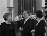 Horst Koehler mit Marie-Luise Marjan und Luise Koehler, 2010