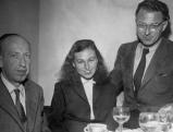 Karl August Horst, Ilse Aichinger, Erhart Kaestner. 50er Jahre
