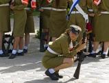 Soldatin in Jerusalem, Mai 2012