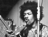 Jimi Hendrix in der Rhein-Halle in Duesseldorf, 1969