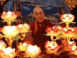 Portraitbild des Dalai Lama