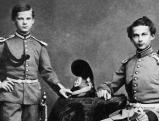 Koenig Ludwig II und sein Bruder Otto, 1864