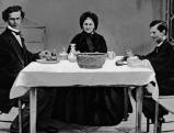 Ludwig II. mit seiner Mutter Marie und seinem Bruder, Prinz Otto
