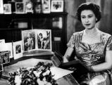 Elizabeth II. nach der Weihnachtsansprache, 1957