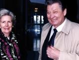 Leo Kirch mit seiner Ehefrau Ruth, 1996