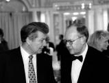 Dieter von Holtzbrinck und Leo Kirch, 1996