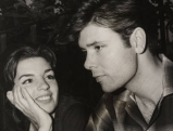 Liza Minnelli (18 Jahre alt) mit Cliff Richard, 1964
