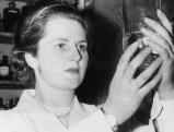 Margaret Thatcher als Chemiestudentin in den 1940ern