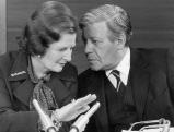 Margaret Thatcher und Helmut Schmidt, 1979