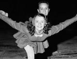Marika Kilius mit Franz NIngel, 1956