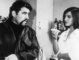 Mario Adorf und Angela Winkler in \'Die verlorene Ehre der Katharina Blum\', 1975