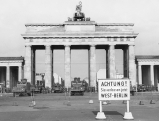 Gesperrtes Brandenburger Tor, 1961