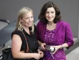 Gruss-FDP und Dorothee Baer-CSU bei der Wahl des Bundespraesidenten