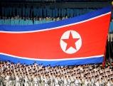 Die nordkoreanische Flagge