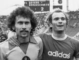 Paul Breitner und Uli Hoeness, 1977