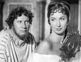 Peter Ustinov mit Patricia Laffan in \'Quo Vadis\', 1951