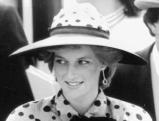 Prinzessin Diana in Ascot beim Pferderennen, 1983