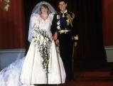 Prinzessin Diana und Prinz Charles bei ihrer Hochzeit, 1981