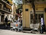 Fluechtlinge in Athen, 2012