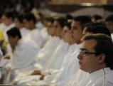 Heilige Messe in Aparecida, der bedeutendste Wallfahrtsort Brasiliens