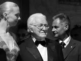 Richard Wagners Enkel Wolfgang Wagner mit Tochter Katharina, 2007
